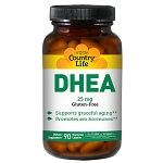 Country Life -  DHEA 25mg - 90カプセル【別送料】