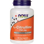 NOW FOODS - L-Citrulline 750 mg - 90 Caps【別送料】シトルリン