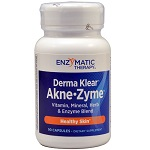 Enzymatic Therapy 社 Derma Klear® Akne • Zyme® - 90カプセル