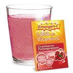 Emergen-C 1,000 mg - Cranberry-Pomegranate(クランベリーザクロ味) - 8.3g x 30包 【別送料】