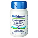 Life Extension(# 01514) - Eye Pressure Support with Mirtogenol - 30カプセル ミルトジェノール