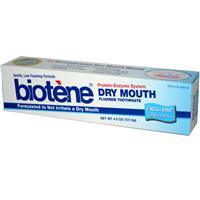 Biotene - Dry Mouth Toothpaste - Fresh Mint 4.3 oz (121.9 g)【別送料】