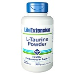 Life Extension(# 00133) - L-Taurine Powder - 300 g 【別送料】 粉末タウリン
