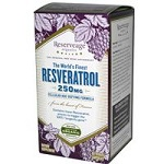 ReserveAge Organics - with Active Trance Resveratrol, (旧名)Cellular Age-Defying Formula, 250 mg - 60 カプセル 【別送料】