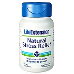 Life Extension(#00987) - Natural Stress Relief - 30 カプセル ナチュラルストレスリリーフ