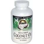 Source Naturals - Extra Virgin Coconut Oil - 120 ソフトジェル 【別送料】ココナッツオイル