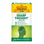 Country Life - SHARP THOUGHT®  (Gluten Free) - 30 カプセル シャープソウト
