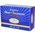 Enzymatic Therapy - DermaKlear Akne Treatment Soap with Sulfur - 3 oz