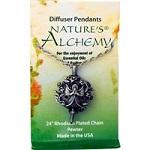 Nature's Alchemy - Diffuser Pendants, Angel Necklace アロマ用ペンダント(エンジェル型)