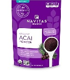 Navitas Naturals - Organic, Freeze-Dried Acai Powder - 8 oz (227 g) 【別送料】アサイパウダー