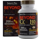Nature's Plus - Beyond CoQ10, Ubiquinol 200 mg - 60 ソフトジェル ユビキノール