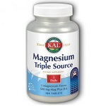 KAL - Magnesium Triple Source Sustained Release - 100錠 持続性マグネシウム トリプル ソース 【別送料】