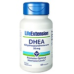 Life Extension(# 00882)- DHEA (Dehydroepiandrosterone) 50mg - 60カプセル