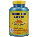 Nature's Life - Amino Acid 1000 mg - 100カプセル 【別送料】