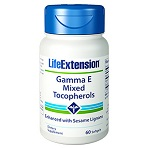 Life Extension - Gamma E Mixed Tocopherols with Sesame Lignans - 60 ソフトジェル ガンマEトコフェロール セサミリグナン
