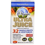 Nature's Plus - Organic Ultra Juice® Multinutrient Supplement - 90錠【別送料】