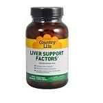 リニãƒ\ーアル★Country Life - Liver Support Factors - 100カプセル レバーサポートファクターカプセル【åˆ\送料】