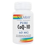 SOLARAY - PURE COQ10 60mg - 60カプセル