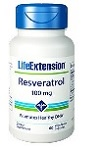 Life Extension(# 02210) - Resveratrol - 100mg 60カプセル